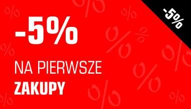 -5% na pierwsze zakupy