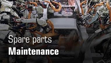 Spare parts - Maintenance